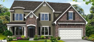 Easley Single Family Home For Sale: 305 Wildflower #Lot 44
