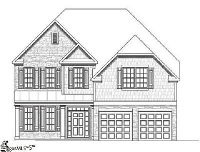 Easley Single Family Home For Sale: 309 Wildflower #Lot 45