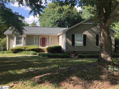 Holly Tree Plantation Single Family Home For Sale: 1205 Plantation