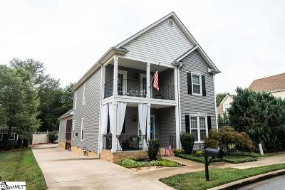Taylors Single Family Home For Sale: 9 Carex