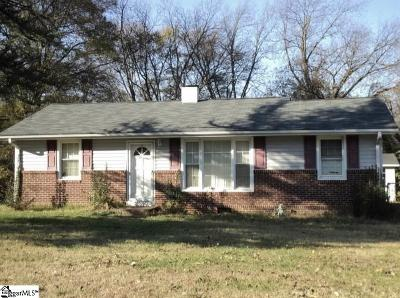 Mauldin Single Family Home For Sale: 127 Pleasant