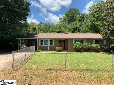 Greenville County Single Family Home For Sale: 211 E Belvedere