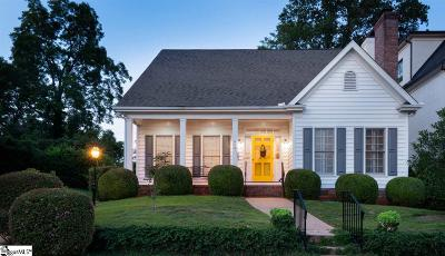 Greenville Single Family Home Contingency Contract: 405 E Camperdown
