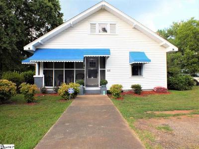 Woodruff Single Family Home For Sale: 535 Lanford