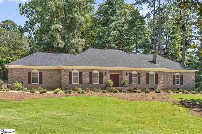 Spartanburg Single Family Home For Sale: 1100 Woodburn