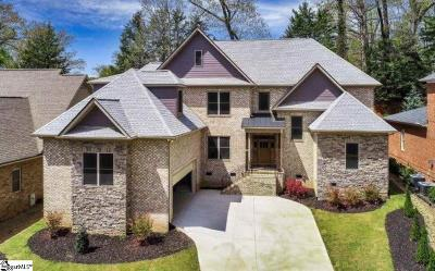 Greenville Single Family Home For Sale: 17 English Ivy