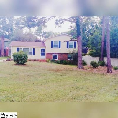 Simpsonville Single Family Home For Sale: 302 Corkwood