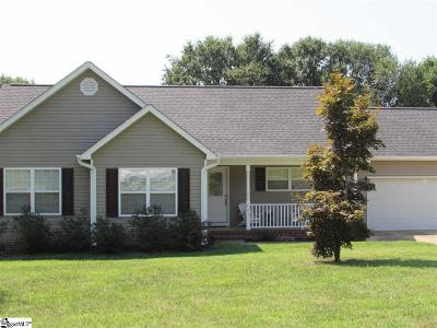 Easley Single Family Home Contingency Contract: 712 Old Cedar Rock