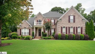 Simpsonville Single Family Home For Sale: 106 Chardmore