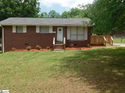 Easley Single Family Home Contingency Contract: 109 Anzio
