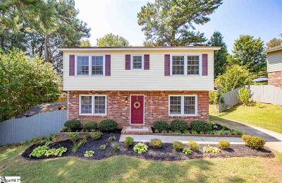 Easley Single Family Home Contingency Contract: 302 Jamestown