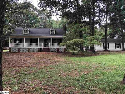 Spartanburg Single Family Home Contingency Contract: 520 Kent