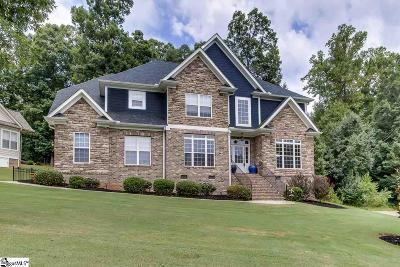 Greer Single Family Home For Sale: 1017 Bent Creek Run