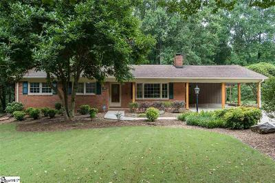 Easley Single Family Home Contingency Contract: 111 Oakvale