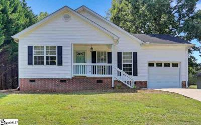 Easley Single Family Home Contingency Contract: 113 Joes