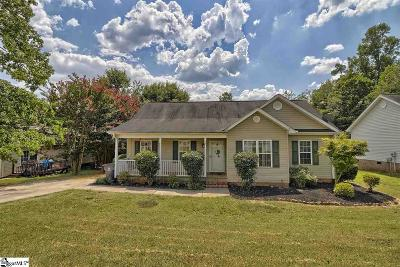 Easley Single Family Home Contingency Contract: 140 Brown