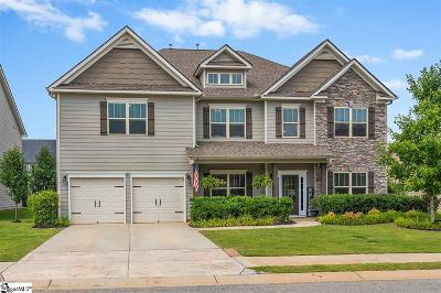 Simpsonville Single Family Home For Sale: 5 Winged Bourne