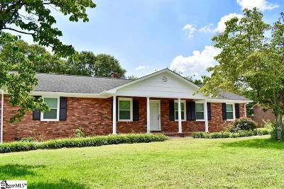 Spartanburg Single Family Home For Sale: 306 Harrell