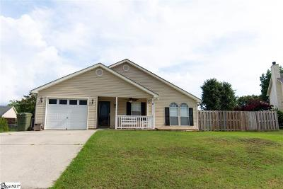 Fountain Inn Single Family Home Contingency Contract: 619 Sweet William
