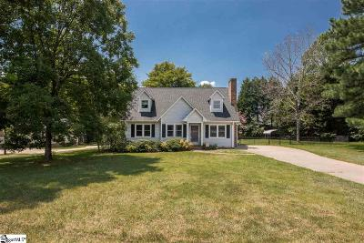 Easley Single Family Home Contingency Contract: 722 Pope Field