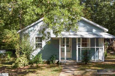 Laurens Single Family Home For Sale: 120 Russell