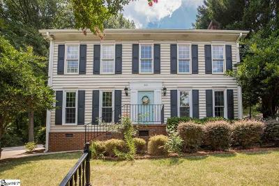 Greenville Single Family Home Contingency Contract: 60 Oak Crest
