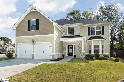Simpsonville Single Family Home For Sale: 605 Powdermill
