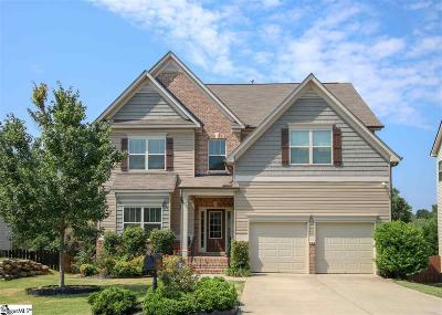 Simpsonville Single Family Home For Sale: 204 Abbey Gardens