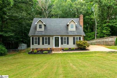 Easley Single Family Home Contingency Contract: 1202 Pineview