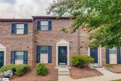 Greenville County Condo/Townhouse Contingency Contract: 812 Reid School #Unit 22