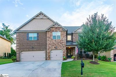 Simpsonville Single Family Home For Sale: 6 Lazy Willow