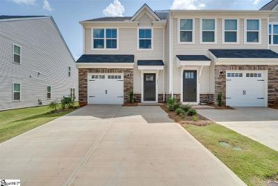 Simpsonville Condo/Townhouse For Sale: 217 Clearwood