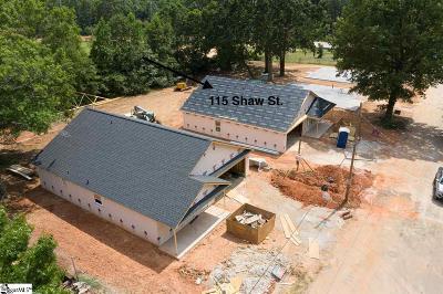 Fountain Inn Single Family Home For Sale: 115 Shaw
