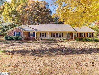 Greenville Single Family Home For Sale: 264 Stone Lake