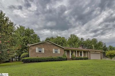 Easley Single Family Home For Sale: 124 Pine Mountain
