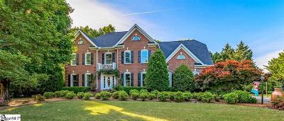 Greenville Single Family Home For Sale: 714 Spaulding Farm