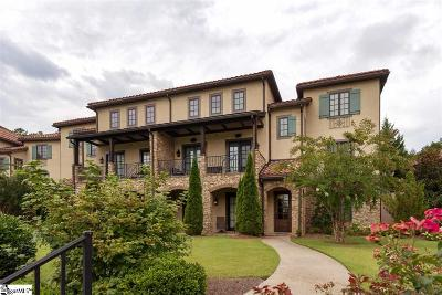 Travelers Rest Condo/Townhouse For Sale: 600 Village Square