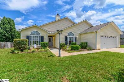 Simpsonville Single Family Home For Sale: 507 Kingfisher
