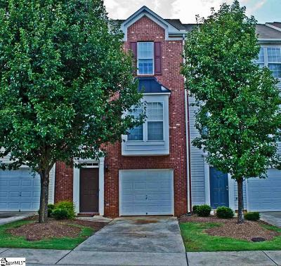 Mauldin Condo/Townhouse For Sale: 208 Cambria