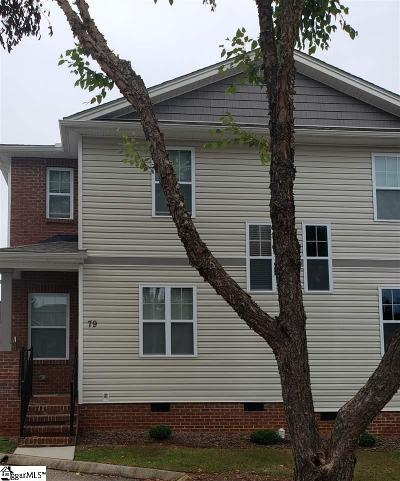 Greer Condo/Townhouse For Sale: 79 Huntress
