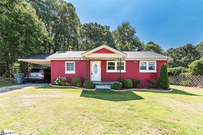 Spartanburg Single Family Home Contingency Contract: 226 Broadview