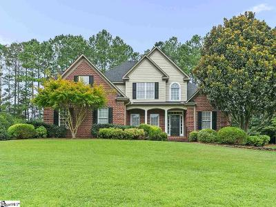 Spartanburg Single Family Home Contingency Contract: 610 Mosswood