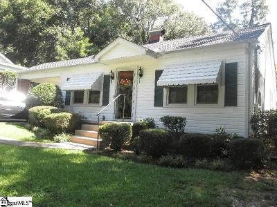 Laurens Single Family Home Contingency Contract: 123 Moreland