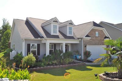 Spartanburg Single Family Home For Sale: 306 Autumn Glen