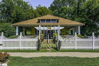 Spartanburg Single Family Home For Sale: 212 E Fremont