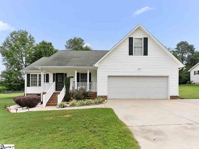 Inman Single Family Home For Sale: 321 James Allgood