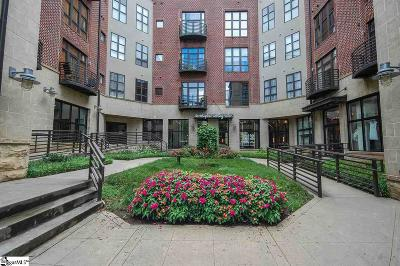 Greenville Condo/Townhouse Contingency Contract: 101 W Court #Unit 420