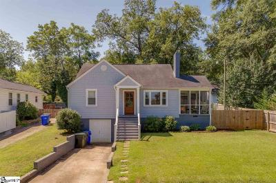 Greenville Single Family Home For Sale: 106 Rose