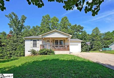 Inman Single Family Home For Sale: 521 Signal Hill