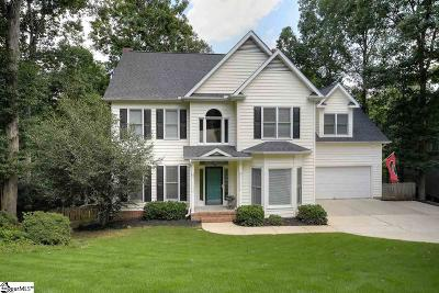Greer Single Family Home For Sale: 308 River Way